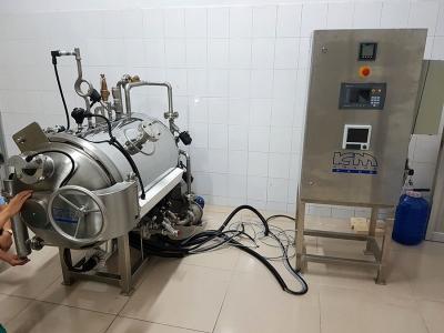 Lắp đặt nồi thanh trùng mini tại KCN Tân Phú Trung