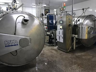 Lắp đặt nồi thanh trùng tại khu công nghiệp Vĩnh Lộc